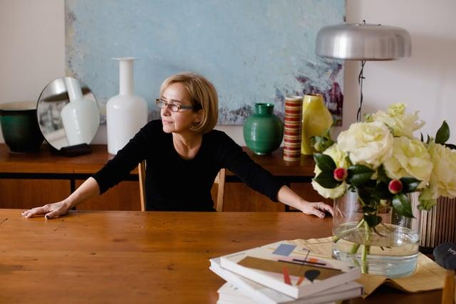 Aida Tomescu, Portrait by Nikki Short, 2015