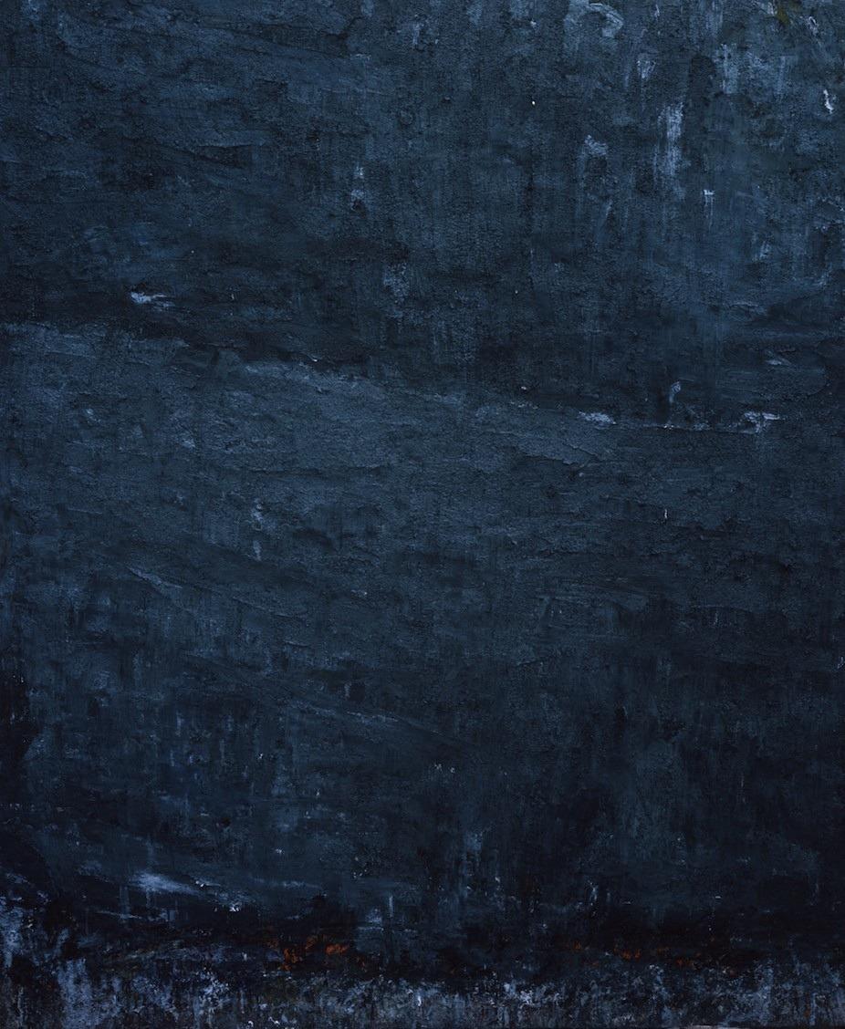Aida Tomescu, 'Piatra', 2000, oil on canvas, 183 x 153cm
