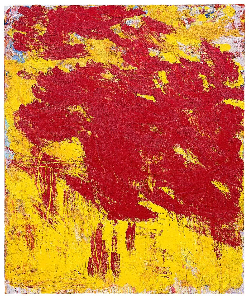 Aida Tomescu, 'Thor', 2007, oil on canvas, 184 x 154 cm