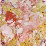 Aida Tomescu, 'Sabine', 2011, mixed media on linen, 183 x 153cm