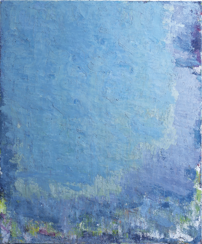 Aida Tomescu, 'Albastra III', 2002, oil on canvas, 183 x 152cm