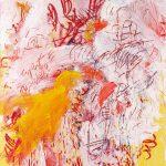 Aida Tomescu, 'Messiaen', 2013, oil and pigments on canvas, 184 x 154cm