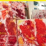 Aida Tomescu Exhibition: Under the Iron of the Moon