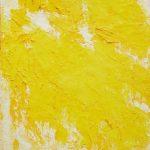Aida Tomescu, 'Phosphorus', Yellow landscape, oil on canvas 168.5 x 123cm